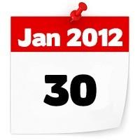 30 jan 2012