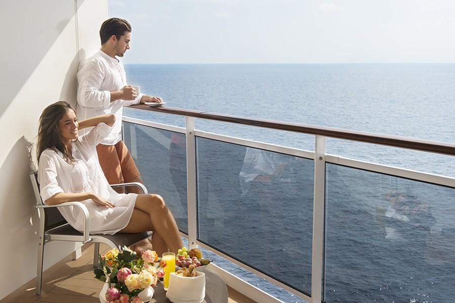 MSC balcony