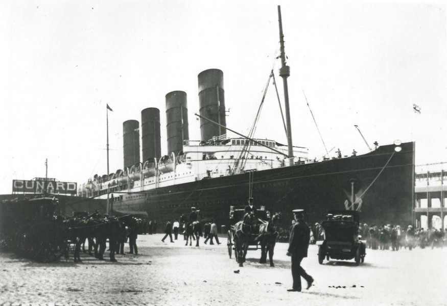Old Cunard Ship