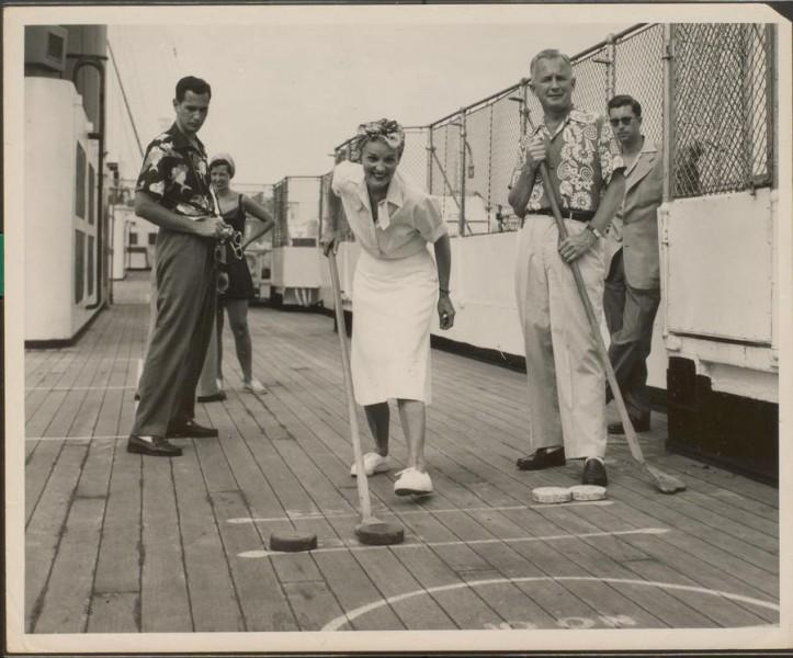 Cunard shuffleboard