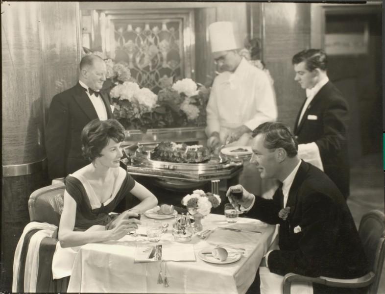 Dinner with Cunard