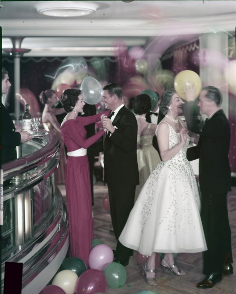 Cunard balloon party