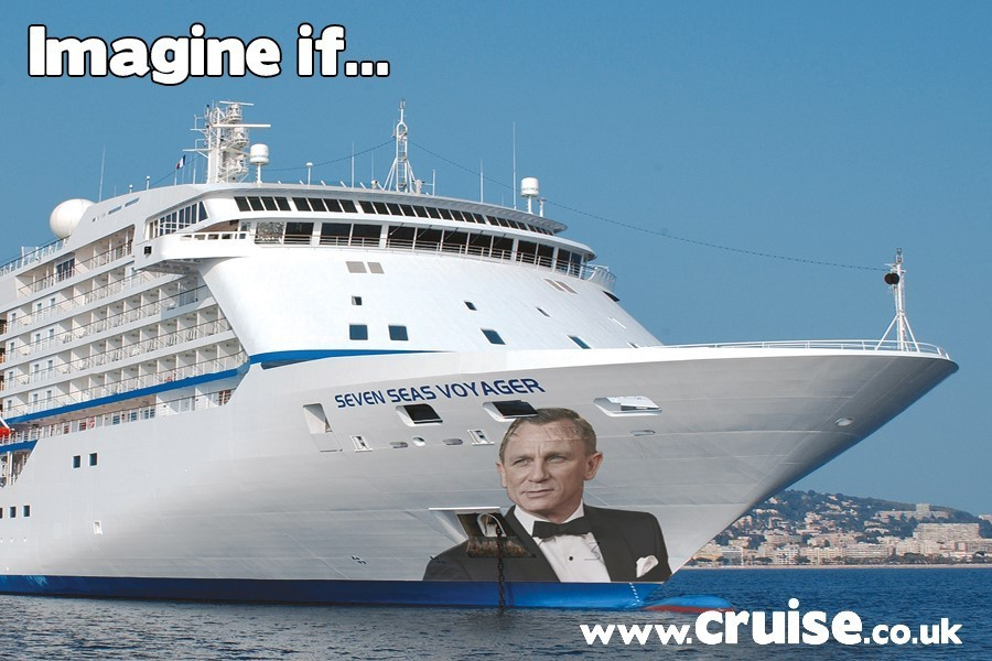 Daniel Craig as Godfather to Regent Seven Seas