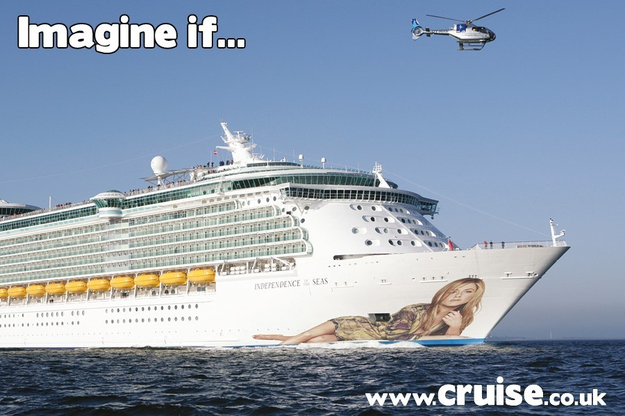 What if Jennifer aniston was a cruise ship Godmother