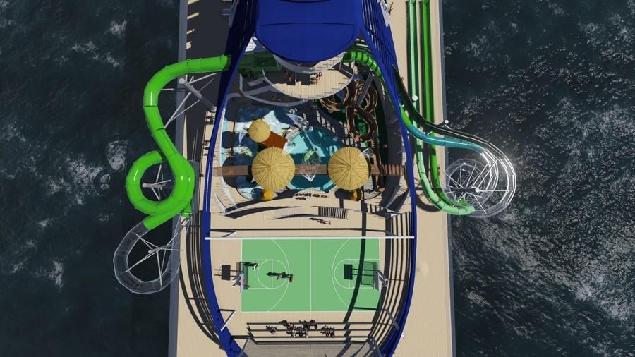 MSC Seaside Aquapark