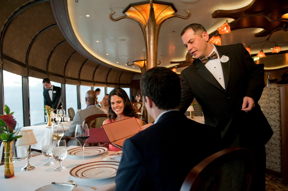 Remy restaurant on Disney Cruise