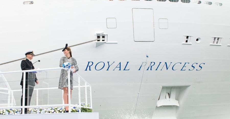 Princess Cruises, Royal princess Naming Ceromony
