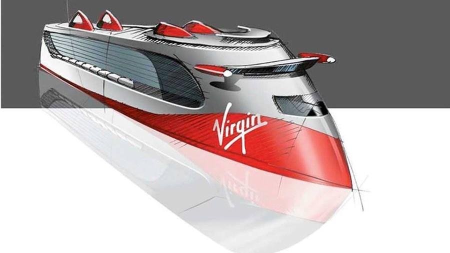 Virgin Cruise ship