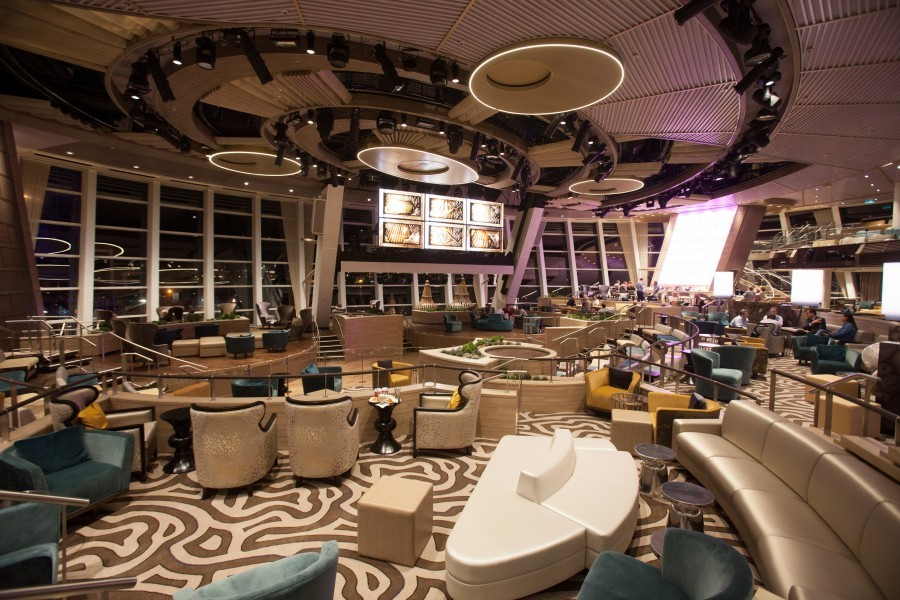 Quantum of the Seas decor