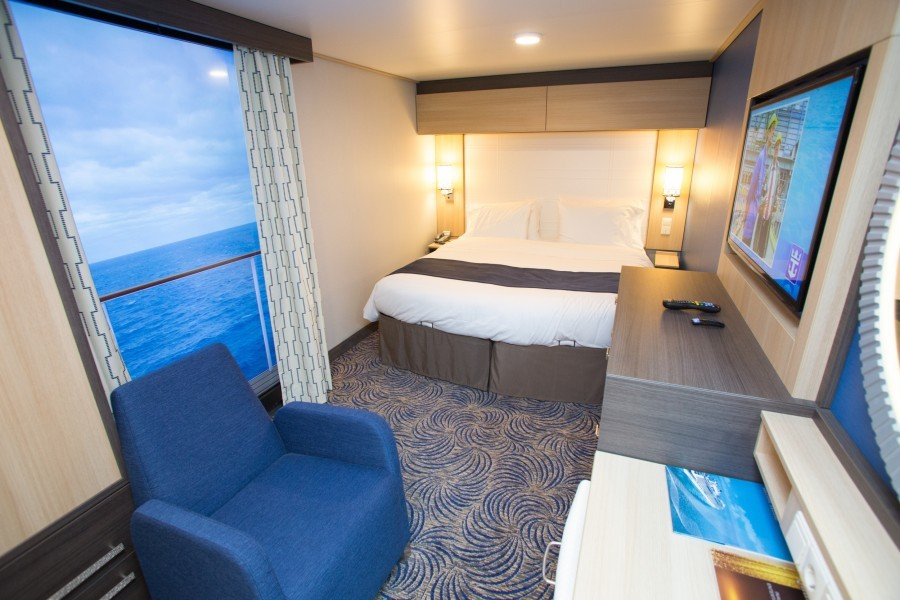 Quantum of the Seas virtual balcony
