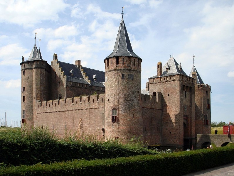 Castle Muiderslot Medieval Castle Amsterdam