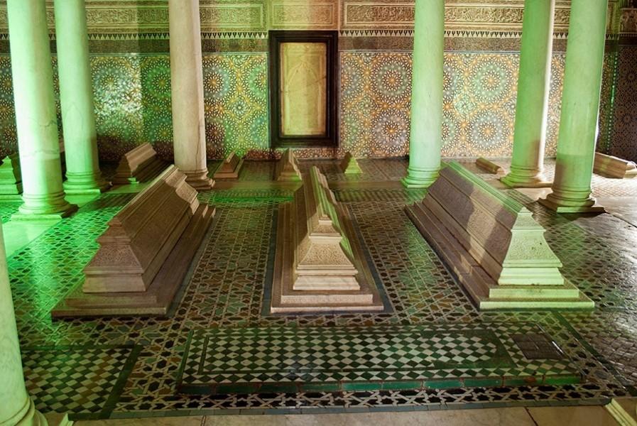 Necropolis Tombeaux Saadiens