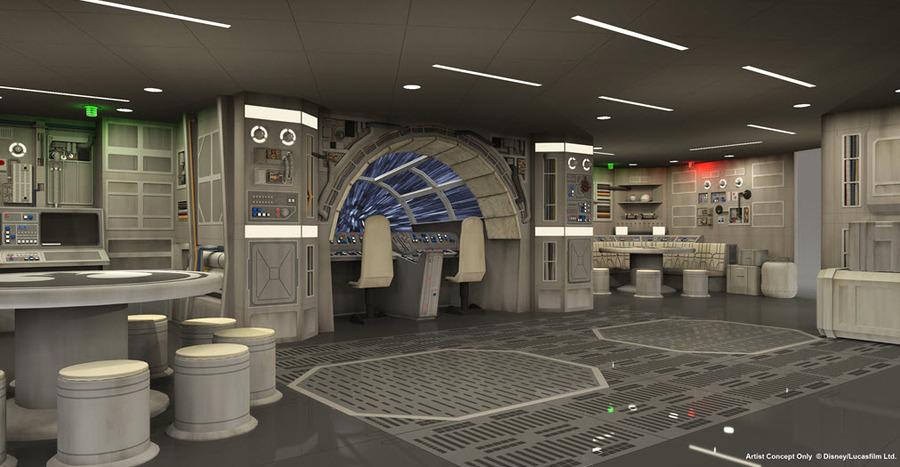 Star Wars Millennium Falcon Low Res