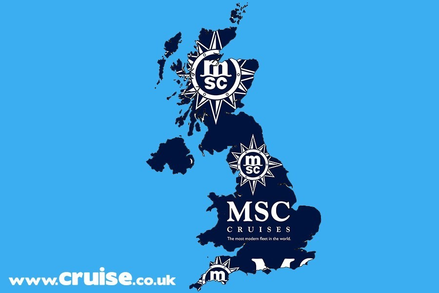 MSC back to UK