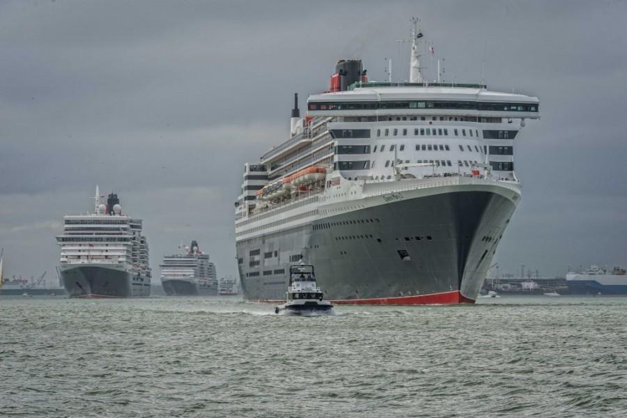 Cunard three queens