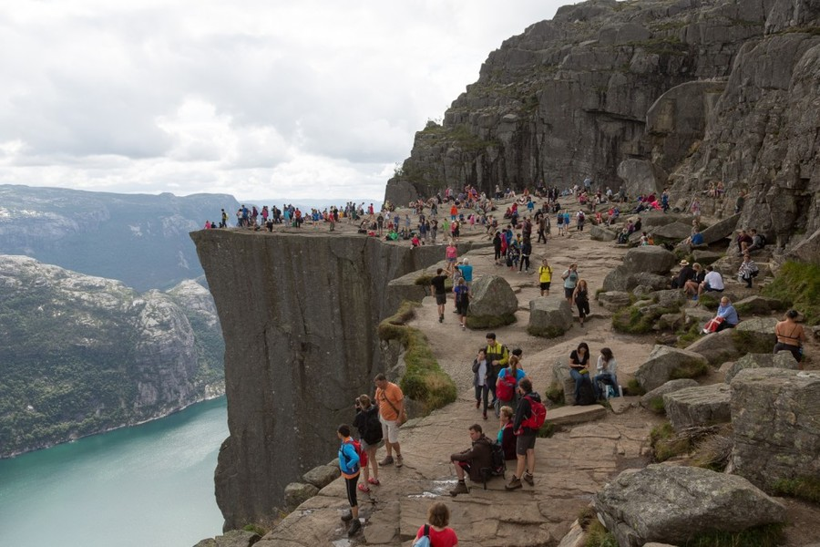 Preikestolen (Pulpit Rock) - views of norway