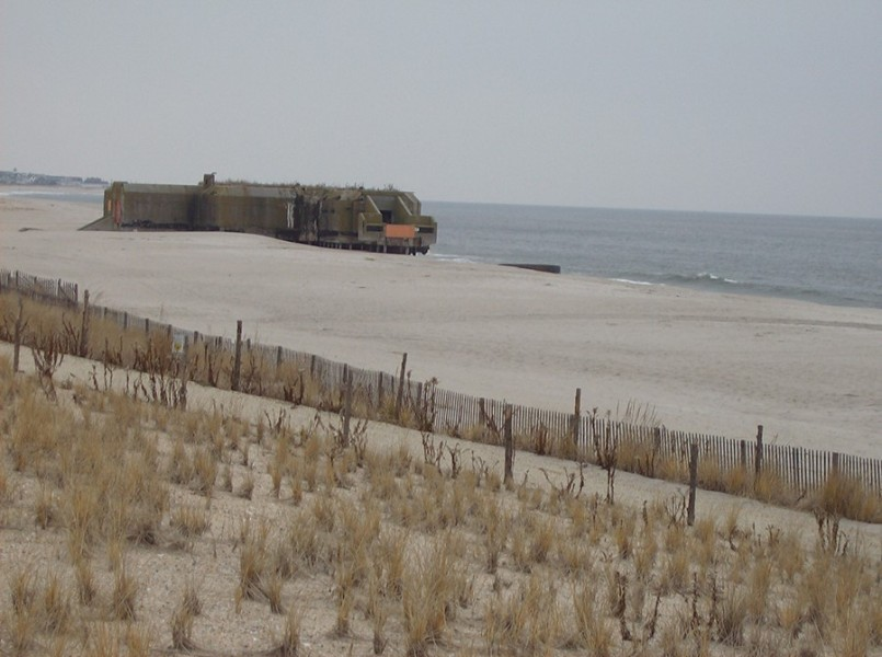 Cape May Bunker,New Jersey