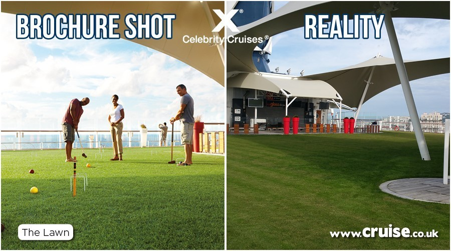Celebrity Eclipse Lawn Club