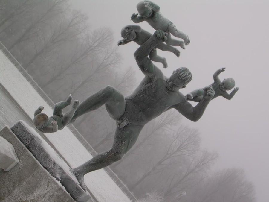 Frogner Park Statue