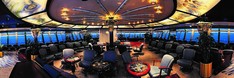 Hurtigruten lounge