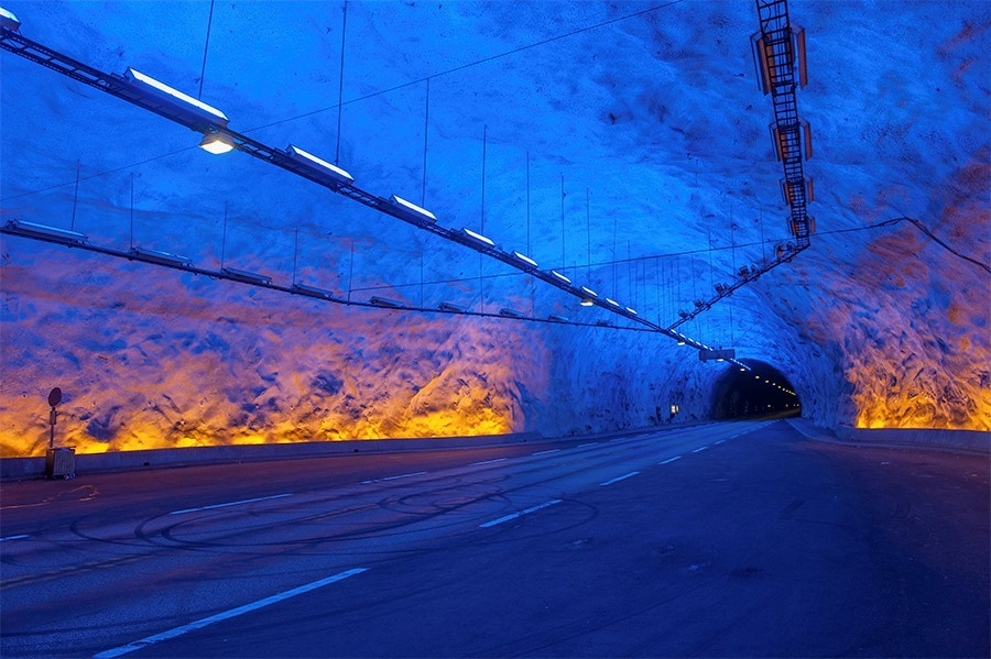 Laerdal tunnel - views of norway