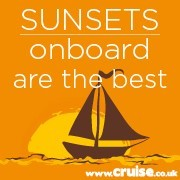 Sunsets on-board are the best