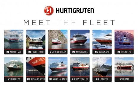 meet the hurtigruten fleet