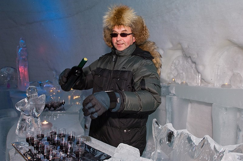 Ice Bar on excursion