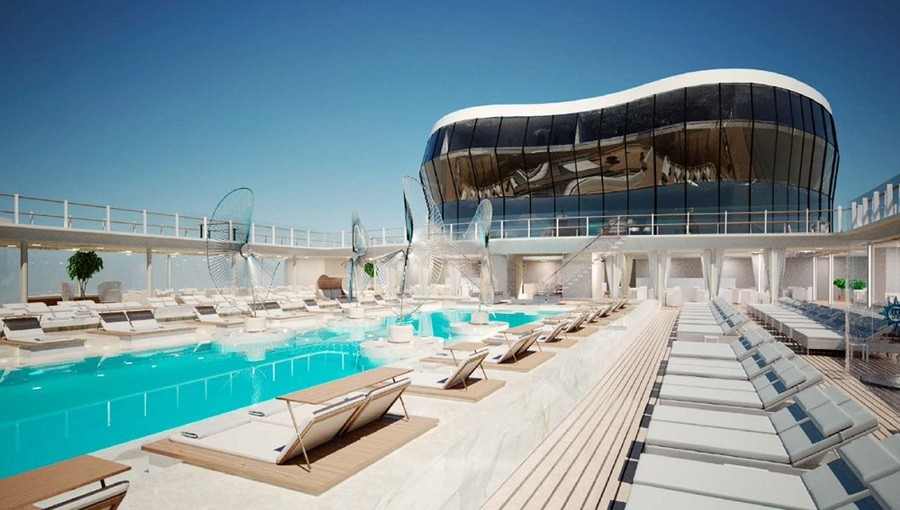 MSC Meraviglia top pool small