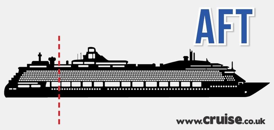 cruise ship - aft