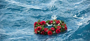 funeral at sea