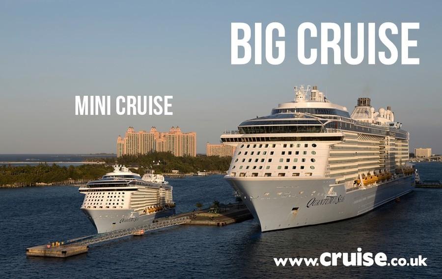 mini cruise free cabin upgrade