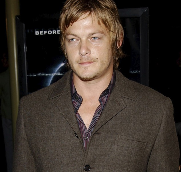 "HOLLYWOOD, CA - OCTOBER 02:  Actress Norman Reedus attends opening night at the Hollywood Film Festival for the world premiere of DreamWorks', ""The Ring"" at the Arclight Theatre on October 02, 2002 in Hollywood, California.  (Photo by Jon Kopaloff/Getty Images)"