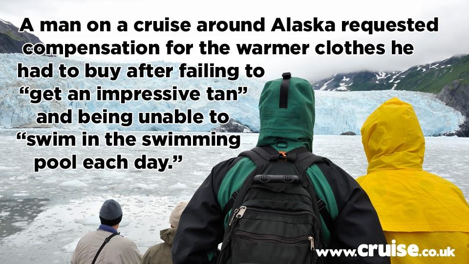 Alaska cruise complaint