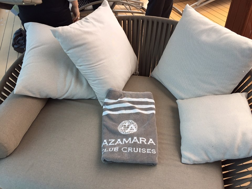 towels on azamara