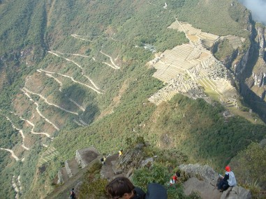 Machu Picchu, from the Wayna summit