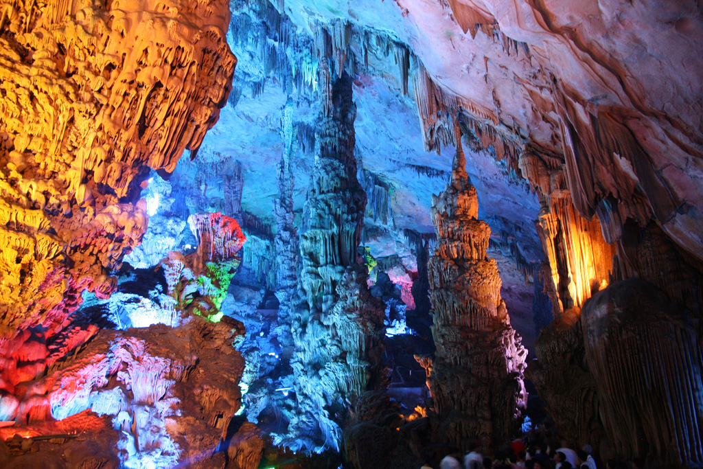 Reed flute cave beautiful