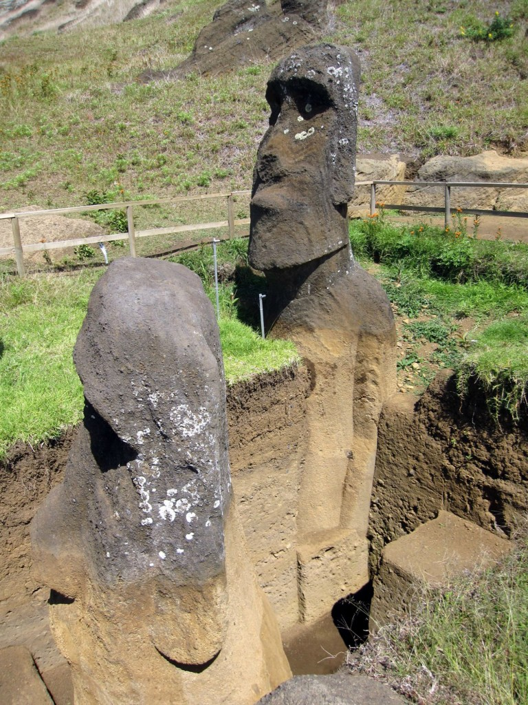 Easter Island excavations