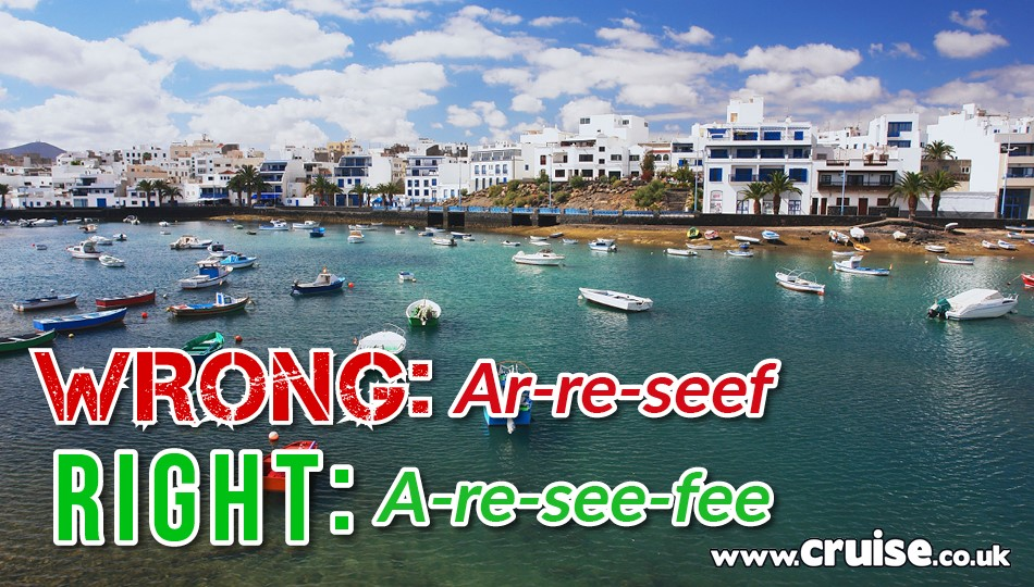 Arrecife - cruise destinations