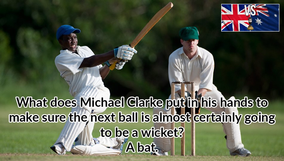 Ashes bat joke