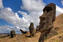 Easter Island statue cover photo