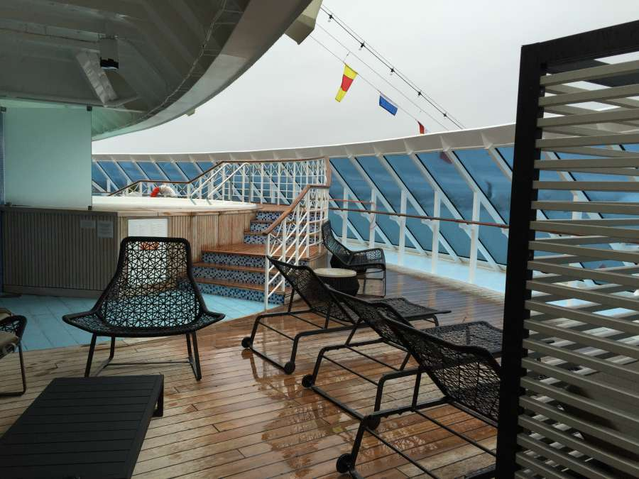 Back of the ship - Azamara