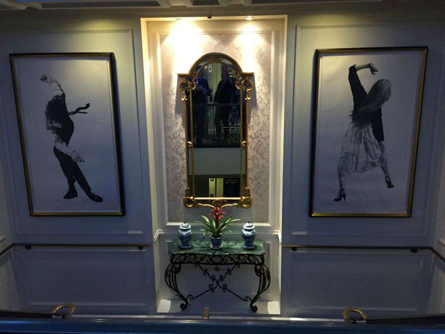 artwork on Silversea