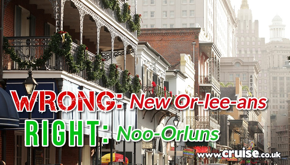 New Orleans - cruise destinations