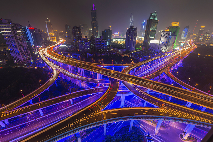 Shanghai Freeways