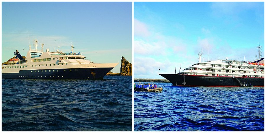 galapagos ships