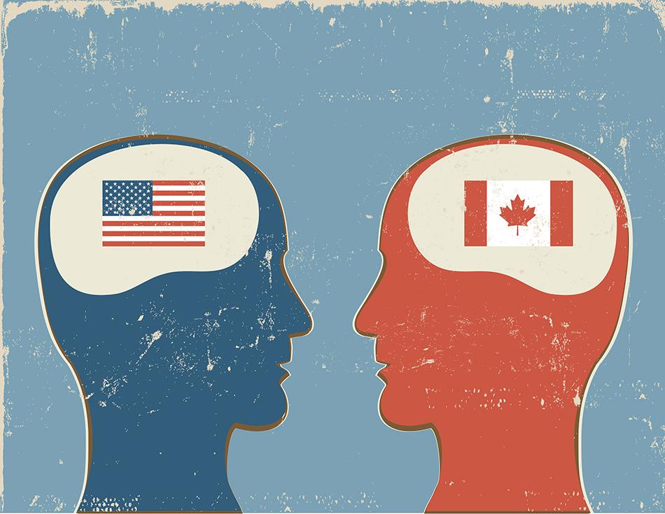 America vs canada