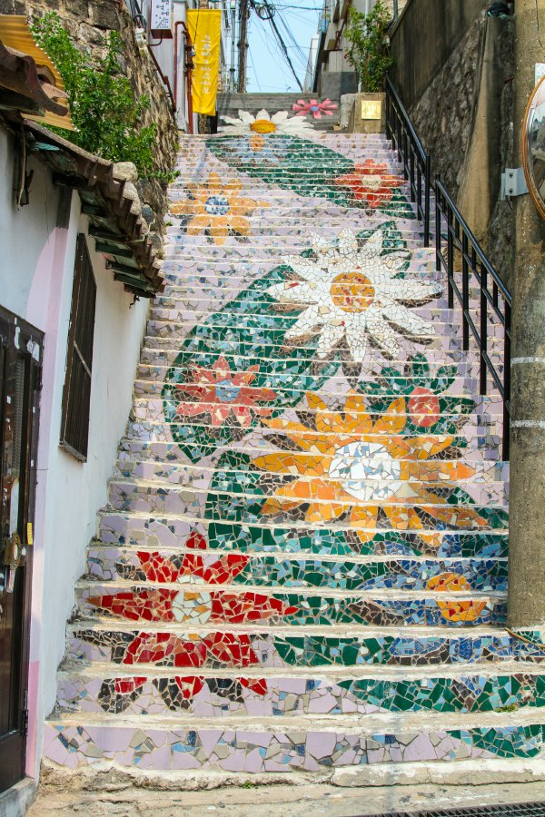 colourful street murals