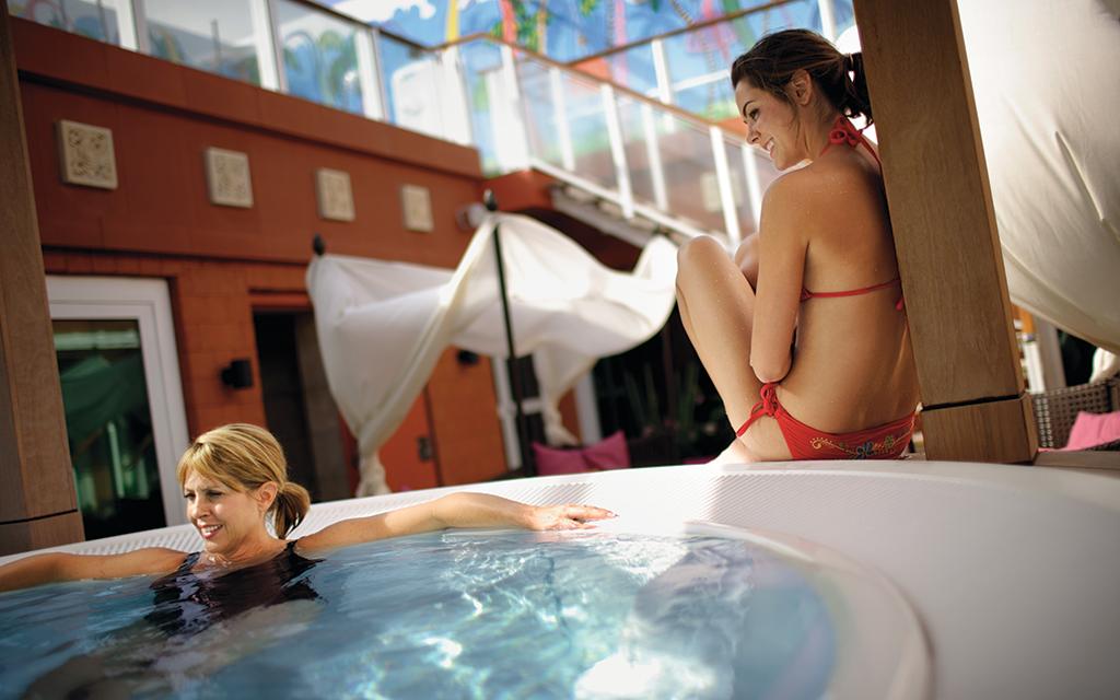 NCL pearl hot tub