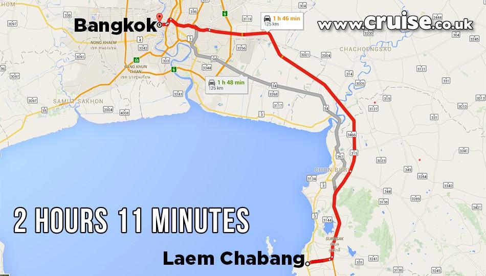 Laem Chabang to Bangkok